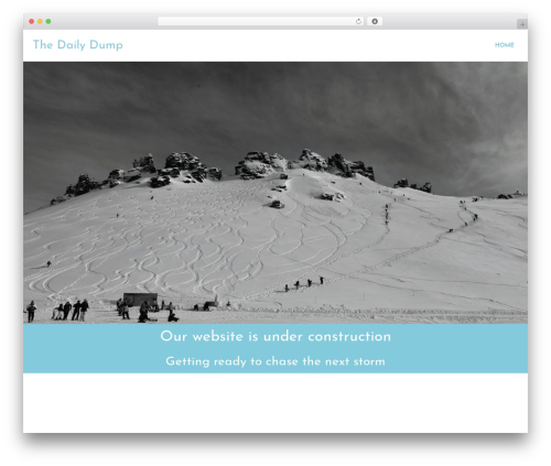 Ares WordPress theme download - thedailydumpsnowreport.com