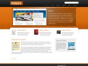 Bitwork personal WordPress theme