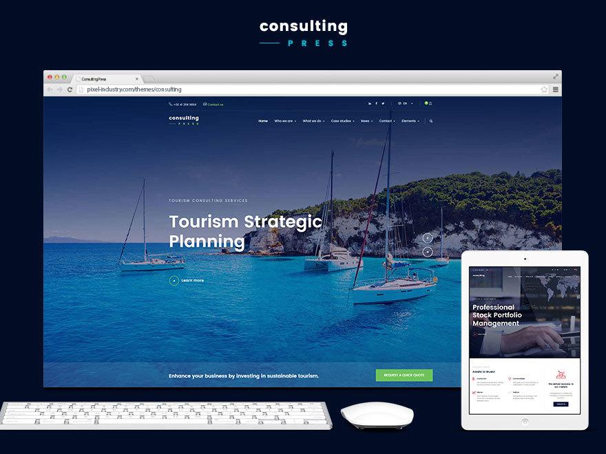 ConsultingPress company WordPress theme