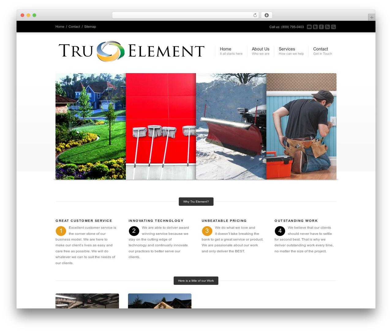 Corona garden WordPress theme - tru-element.com
