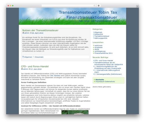 dkret3 theme WordPress - transaktionssteuer.com