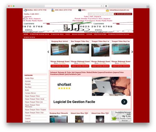 IndoStore Theme WordPress theme - tokojatijepara.com
