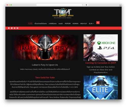 Lakshmi Lite WordPress theme - teragold4.com