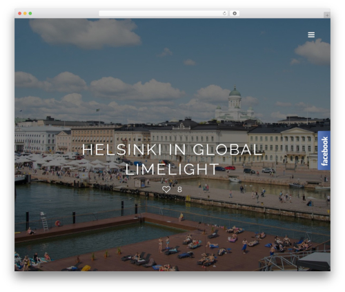 Ness WordPress travel theme - finnishtravelblog.com