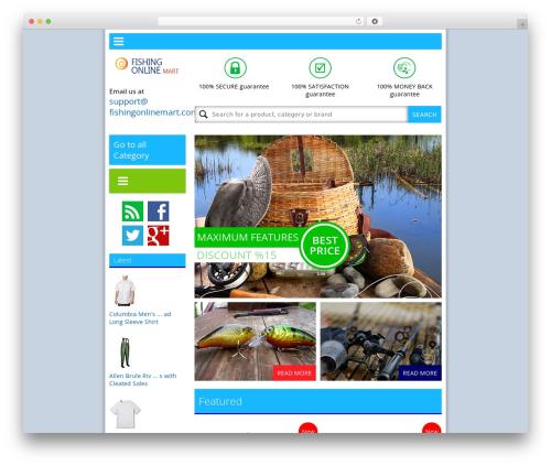 News UI WordPress magazine theme - fishingonlinemart.com