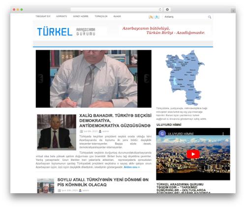 NewsBest newspaper WordPress theme - turkel-aq.org