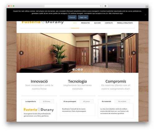 Nomos WP template - fusteriadurany.com