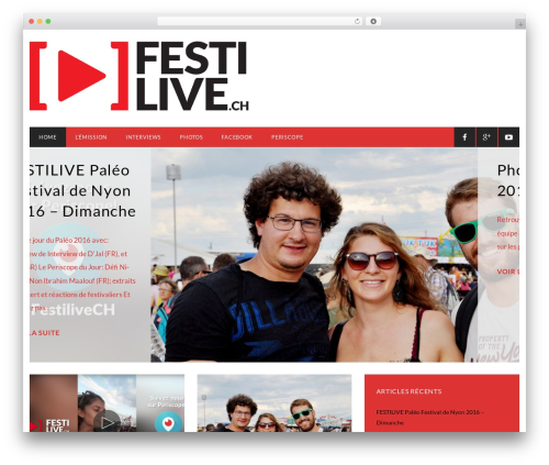 On Demand v4 WordPress page template - festilive.ch