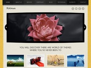 Relaxa WordPress gallery theme