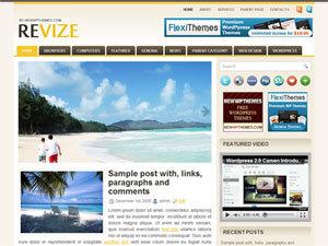 Revize WordPress theme
