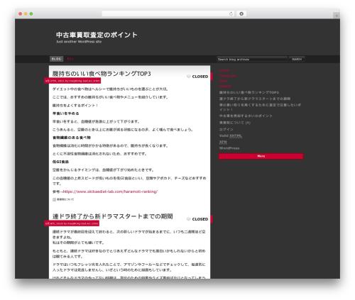 RGB best WordPress template - techno.vc