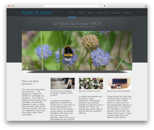 Free WordPress Vertical and Horizontal Tree plugin - fleurs-de-bach.net