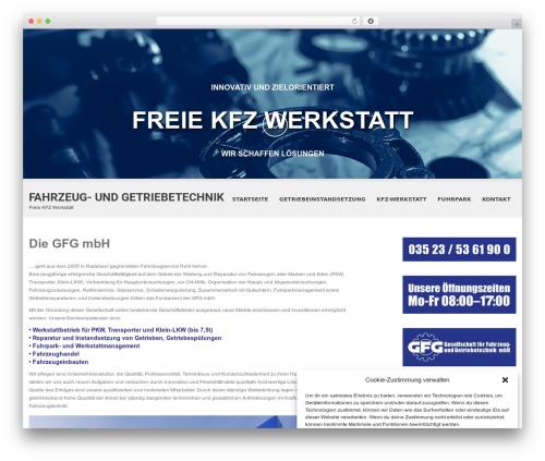 SKT White best WordPress template - fahrzeug-getriebetechnik.de