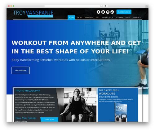 SmartMag WordPress theme design - troyvanspanje.com