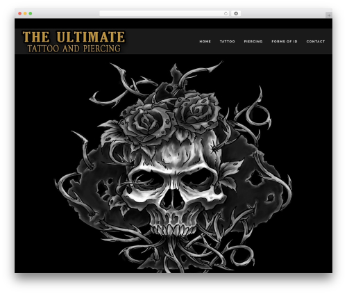 TattoPro best WordPress theme - theultimatebody.net