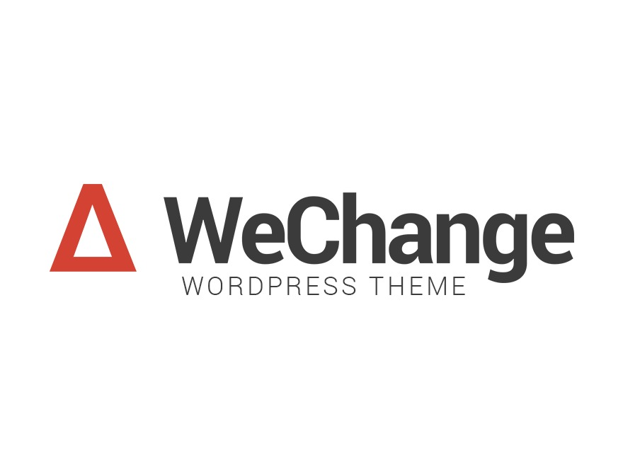 WeChange WordPress theme