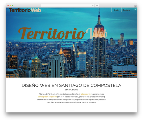 WordPress template Enfold - territorioweb.es