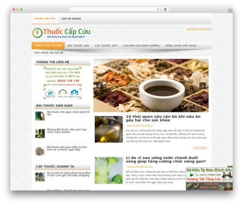 WordPress theme Rano - thuoccapcuu.com