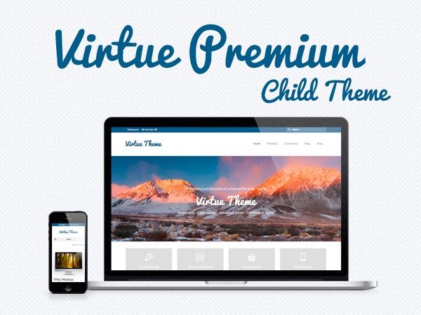 WordPress theme Virtue – Premium Child