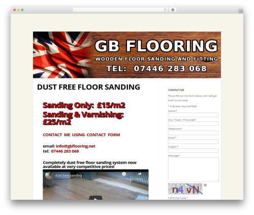 Flexible WP template - gbflooring.net