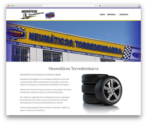 The Retailer best WordPress theme - neumaticostorredembarra.com