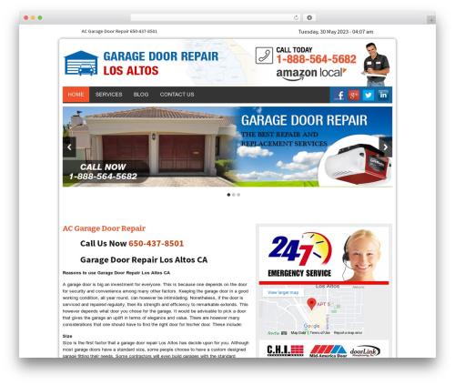 Twenty Thirteen top WordPress theme - garagedoorrepairlosaltoscal.com