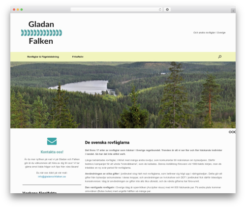 Vantage best WordPress template - gladanochfalken.se