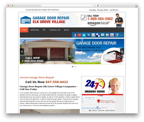 WordPress theme Twenty Thirteen - garagedoorsrepairelkgrovevillageil.com