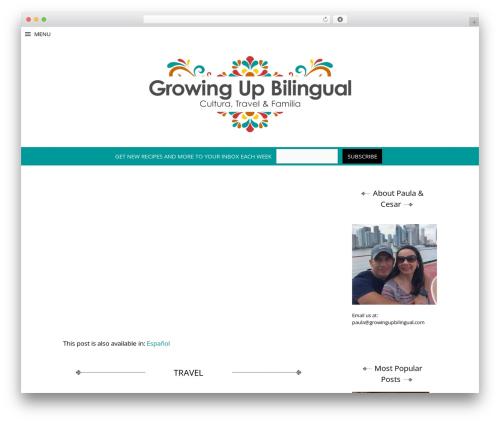 Free WordPress Top 10  – Popular posts plugin for WordPress plugin - growingupbilingual.com