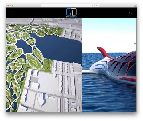 Rayleigh best WordPress template - gd-archidesign.com