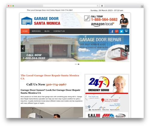 WordPress template Twenty Thirteen - garagedoorsantamonicacal.com