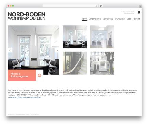 cherry WordPress theme - nord-boden.de