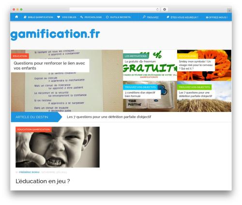 Codilight theme WordPress - gamification.fr