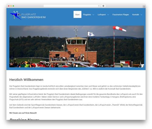 Hydrogen top WordPress theme - gandersheim.info