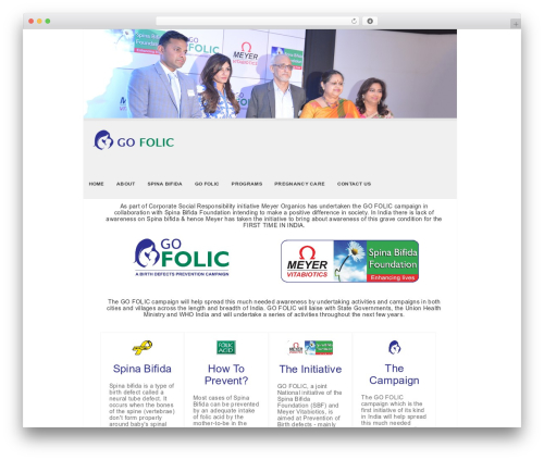 SKT White WordPress theme - gofolic.in