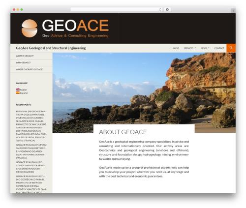 child_twentyfourteen WordPress template for business - geoaceengineering.com