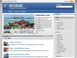 SolarSentinel Wordpress Theme best WordPress template