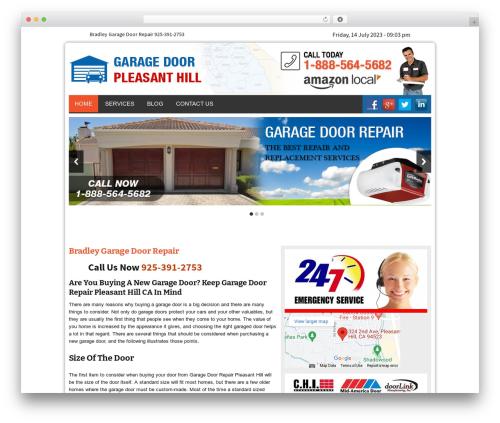 Twenty Thirteen WP theme - garagedoorpleasanthillcal.com