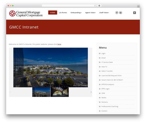 Appointment best free WordPress theme - gmccloan.net