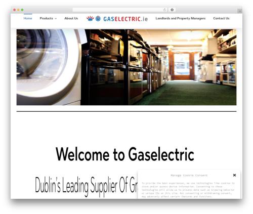 Avada WP theme - gaselectric.ie