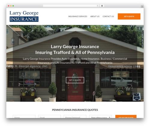 BrightFire Stellar WordPress theme design - georgeagency.com