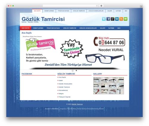 Learner WP theme - gozluktamircisi.com