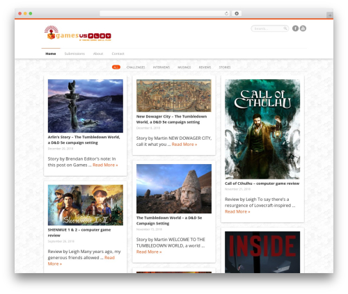 Remal WordPress gaming theme - gamesvsplay.com
