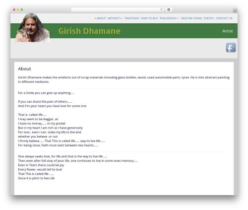 SG Grid free WordPress theme - girishdhamane.com