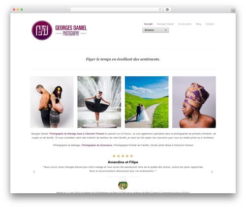 Template WordPress Photojax - georges-daniel.com