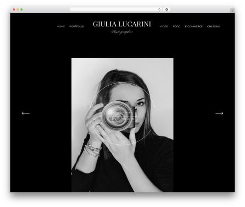 WordPress website template Panama - giulialucarini.it