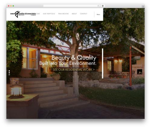 Domik WordPress template - gansline.com