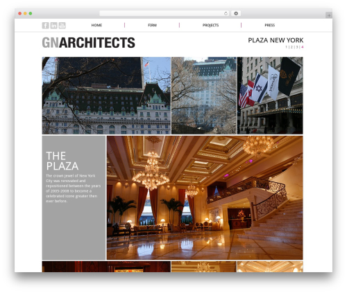 WordPress theme Immersion - gnarchitect.com