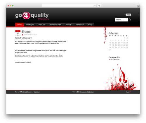Stardust best WordPress theme - go4q.info