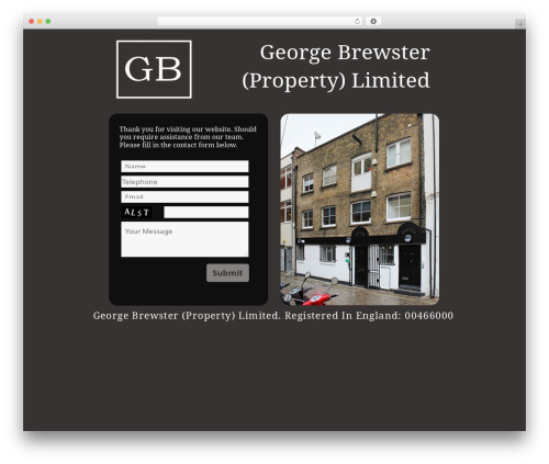 Twenty Fifteen WordPress theme download - georgebrewster.co.uk